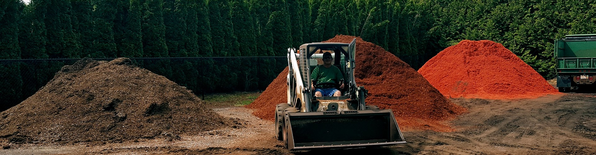 Looking for bark mulch?  We got you covered.